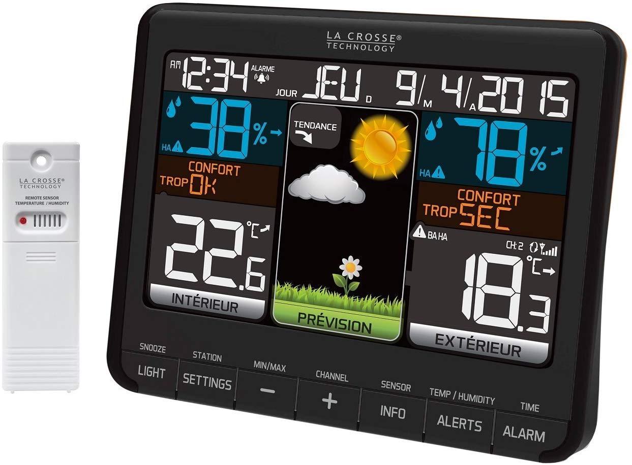 Station météo la Crosse technology-ws6825